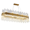 Big Luxury Modern Crystal Chandelier Lighting Led