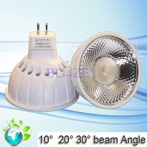 6w 8w 2700k narrow beam angle mr16 15 degree led spotlight