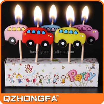 Hot Sale Children Party Customized Shape Funny Birthday Candle