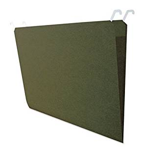 IDEASTREAM CONSUMER PRODUCTS FT07043 Hanging File Folders with Innovative Top Rail, Legal, Green, 20/Pack