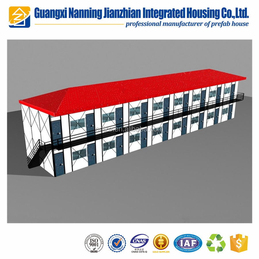 Professional China maunfacturer temporary modular accommodation prefab house