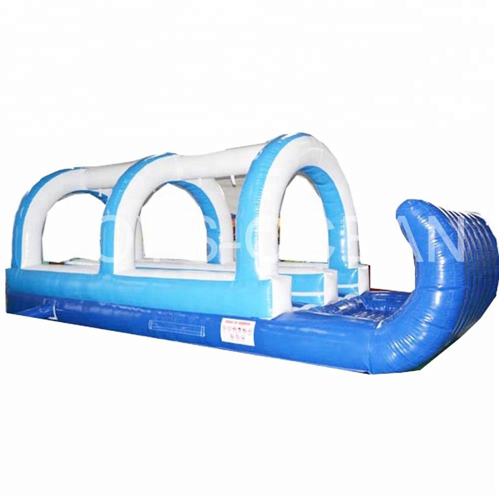 Inflatable Water Slip n <strong>Slide</strong> Playground <strong>Slide</strong> With Pool