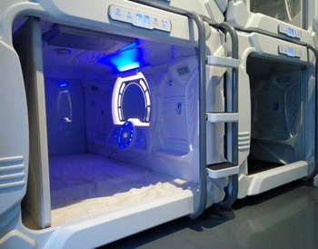 Shenzhen Furniture Manufacturer Sleeping Pod Capsule Hotel