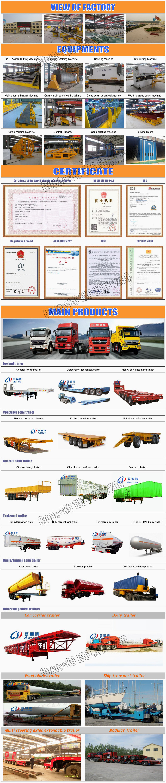 Aotong 2 Double Axles 6 Units Transporting Suv Car Carrier Semi Trailer For  Sale - Buy Car Carrier Trailer,Car Carrier Semi Trailer,2 Axles Car