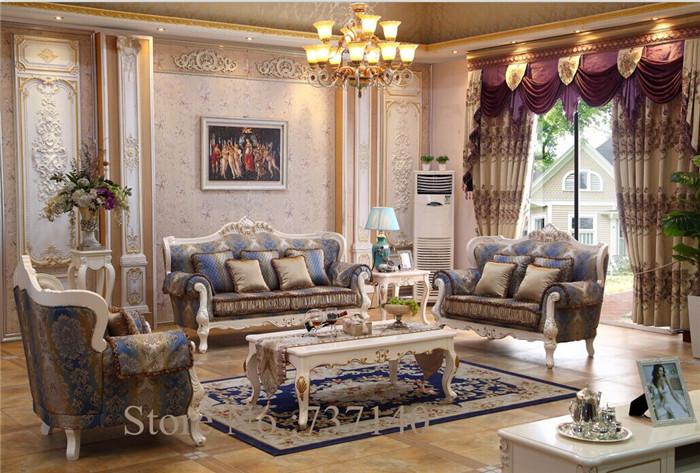 hot sell antique sofa set solid wood carving sofa living room sofa european style leather. Black Bedroom Furniture Sets. Home Design Ideas