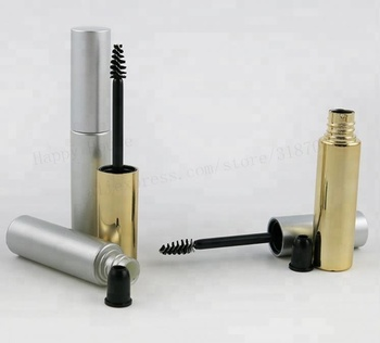 ff0c4c91397 wholesale Empty 8ml UV Gold Silver Mascara Tube packaging Eyelash Vial  Liquid Bottle Container 8cc y