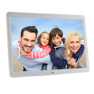 12'' 1280x800 resolution video playback gif digital picture frame