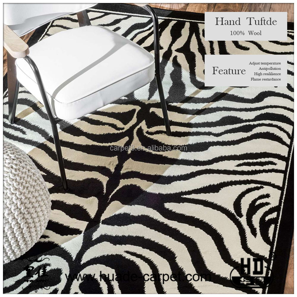 China factory supplier hand tufted carpet like animal
