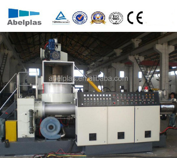 Recycling plastic pelletiseermachine, plastic pelletizer