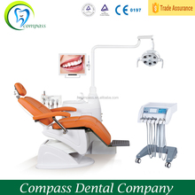 foshan compass luxury dental chairs unit ,clinic furniture chair factory price;dental equipment on sale china manufacturer