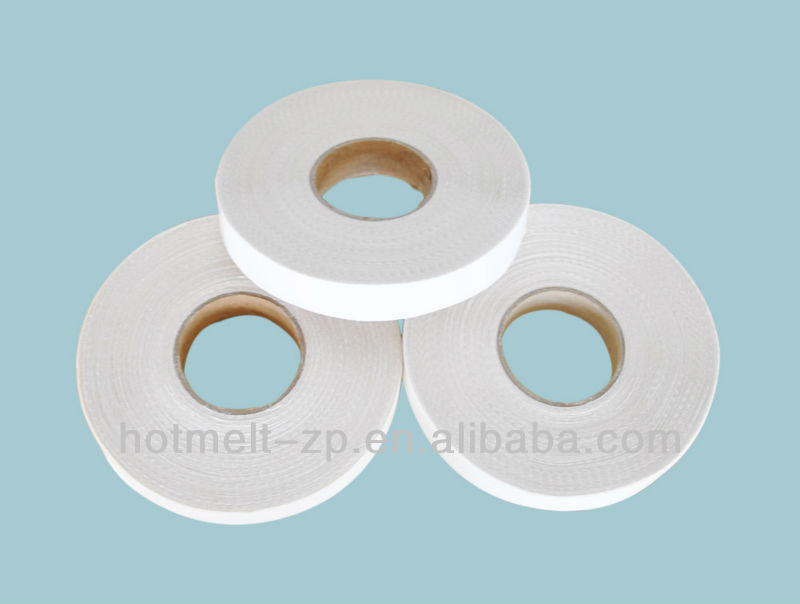Hot fuse interlining cutting tape with paper