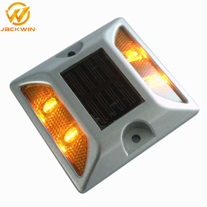 Wholesale Traffic Safety Aluminium Cat Eyes Solar Road Stud Price Road Spike