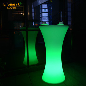 outdoor sectional sofa for sale LED light up bar sofa Rechargeable Lighting Bar Furniture LED Sofa
