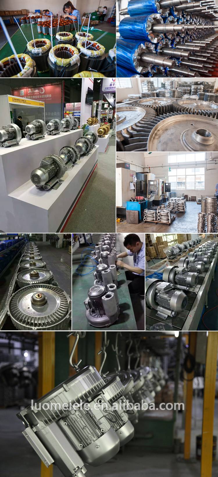 High Pressure Ring Blower Specification