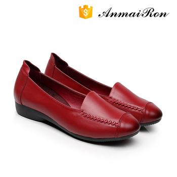 4f60f3fb741 Alibaba Women Shoes Women Leather Flat Shoes Ladies Flat Shoes