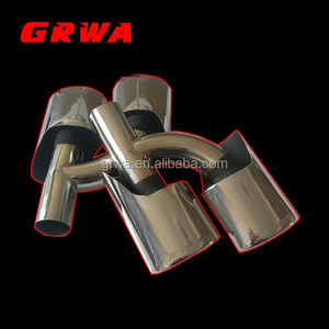 Exhaust Muffler Stainless Steel Tail For W204