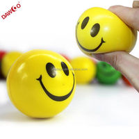 Custom PU Smiley ball, Smiely ball stress ball