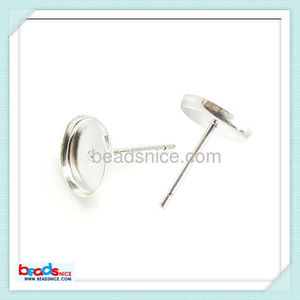 Beadsnice ID 26462 jewelry wholesale alibaba Stud Earrings parts made of 925 sterling silver