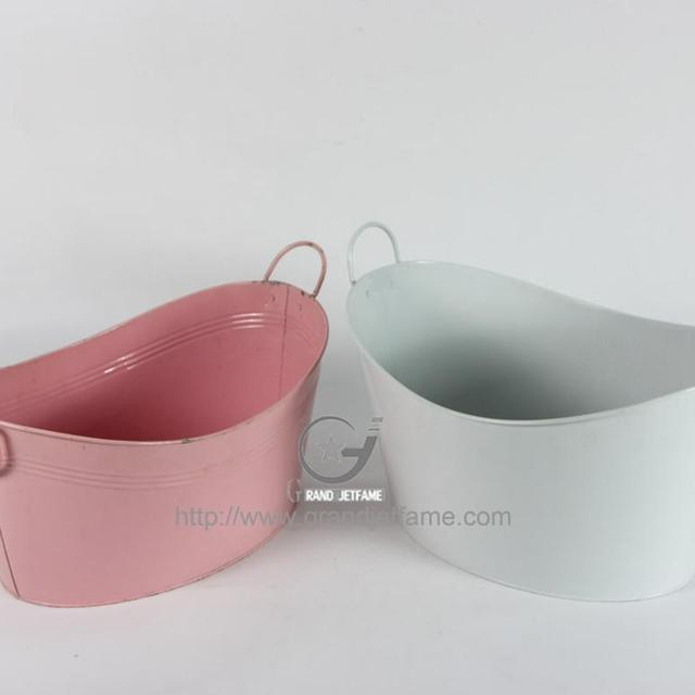 dp drinks cooler tub flower steel cookspace catering oval metal watertight galvanised beverage use planter festivals for