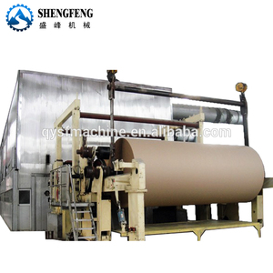 Kraft paper manufacturing machine and fluting paper liner board papermaking machinery
