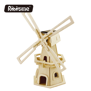 3D DIY wooden solar educational windmill toys kids game, View windmill  toys, Robotime, Robotime Product Details from Robotime Technology (Suzhou)  Co ,