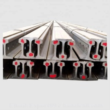 GB standard q235 55q material 18kg/m light steel rail