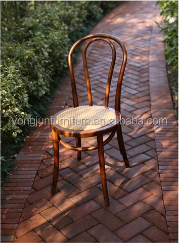 Thonet bentwood silla de comedor apilable asiento de for Sillas rattan comedor