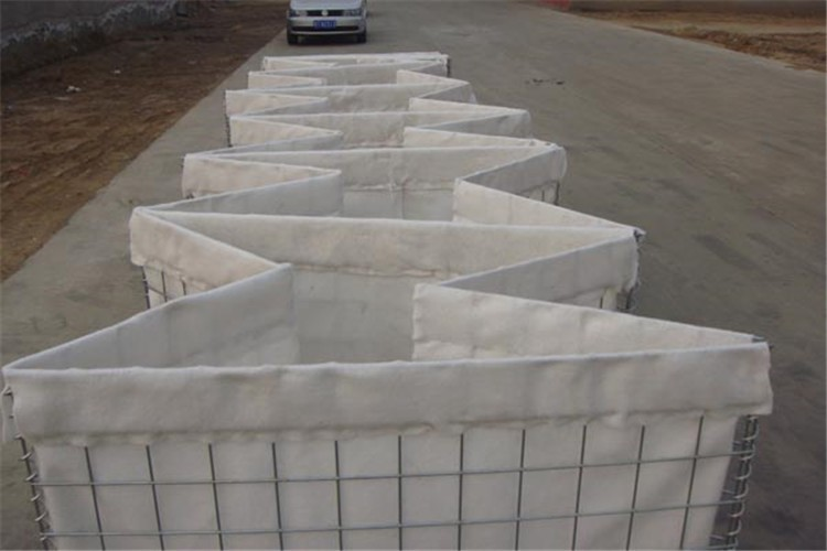 MIL System Easy Installation Hesco Control Portable Flood Barrier