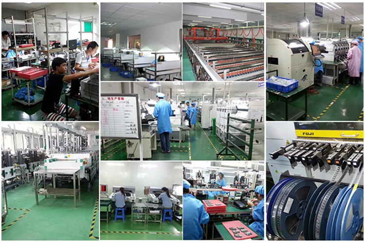 Hasl loodvrij power bank pcba montagedienst met SMT fabriek in shenzhen