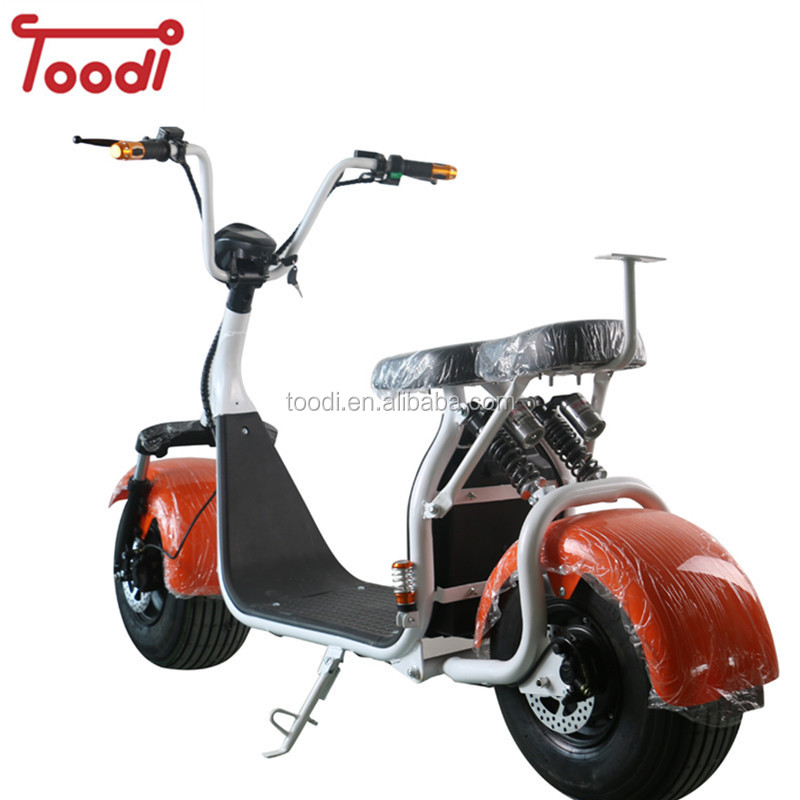 Warehouse In Netherlands 2 Seat Electric Scooter Person City Coco For S With Ce Toodi