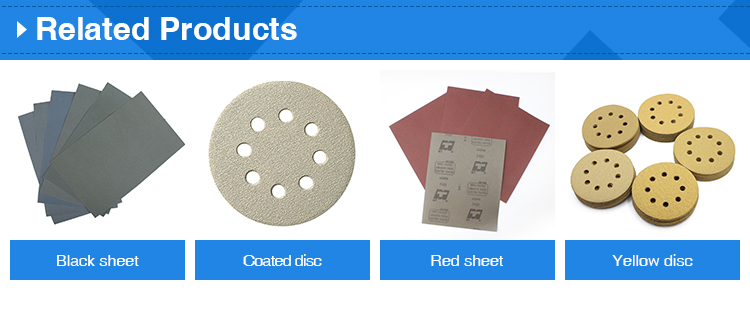 5inch sanding disc with hook and loop backing pad