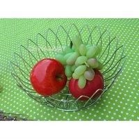 handmade fruit picking garden metal wire basket