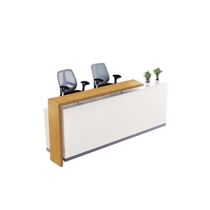 Cheap price reception counter table modern front office reception desk