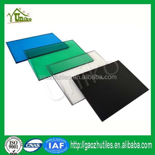 Panel de techo transparente policarbonato hoja s lida resina de policarbonato precio l minas - Precio del policarbonato ...