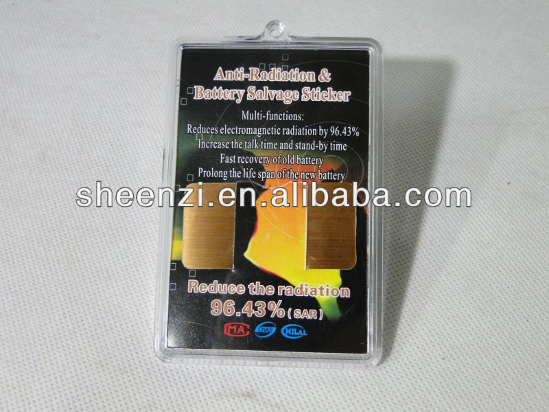Bag Packed/box Packed Anti Radiation Sticker