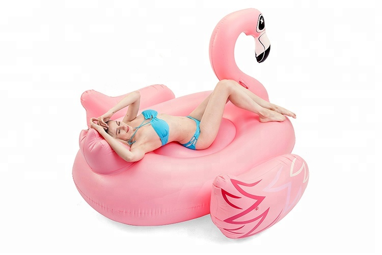 Inflatable Animal Toy Pool Float Flamingo Mattress lounge, Swimming Giant Flamingo Pool Float Manufacturer