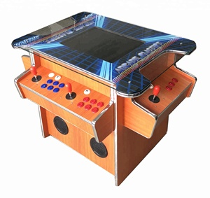4 players cocktail wooden arcade video game machines with 2475 games