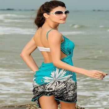 Beach Party Dress Hot Y Fl Swim Suit Bathing Suits Swimwear Cover Up