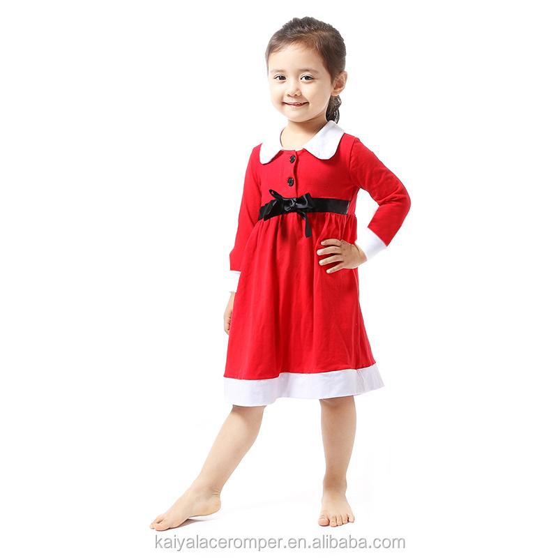 a46318c26 Vintage Red White Cotton Dress White Peter Pan Collar Baby Girls ...