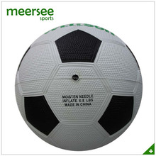 Rubber vulcanized football,higher quality rubber football balls