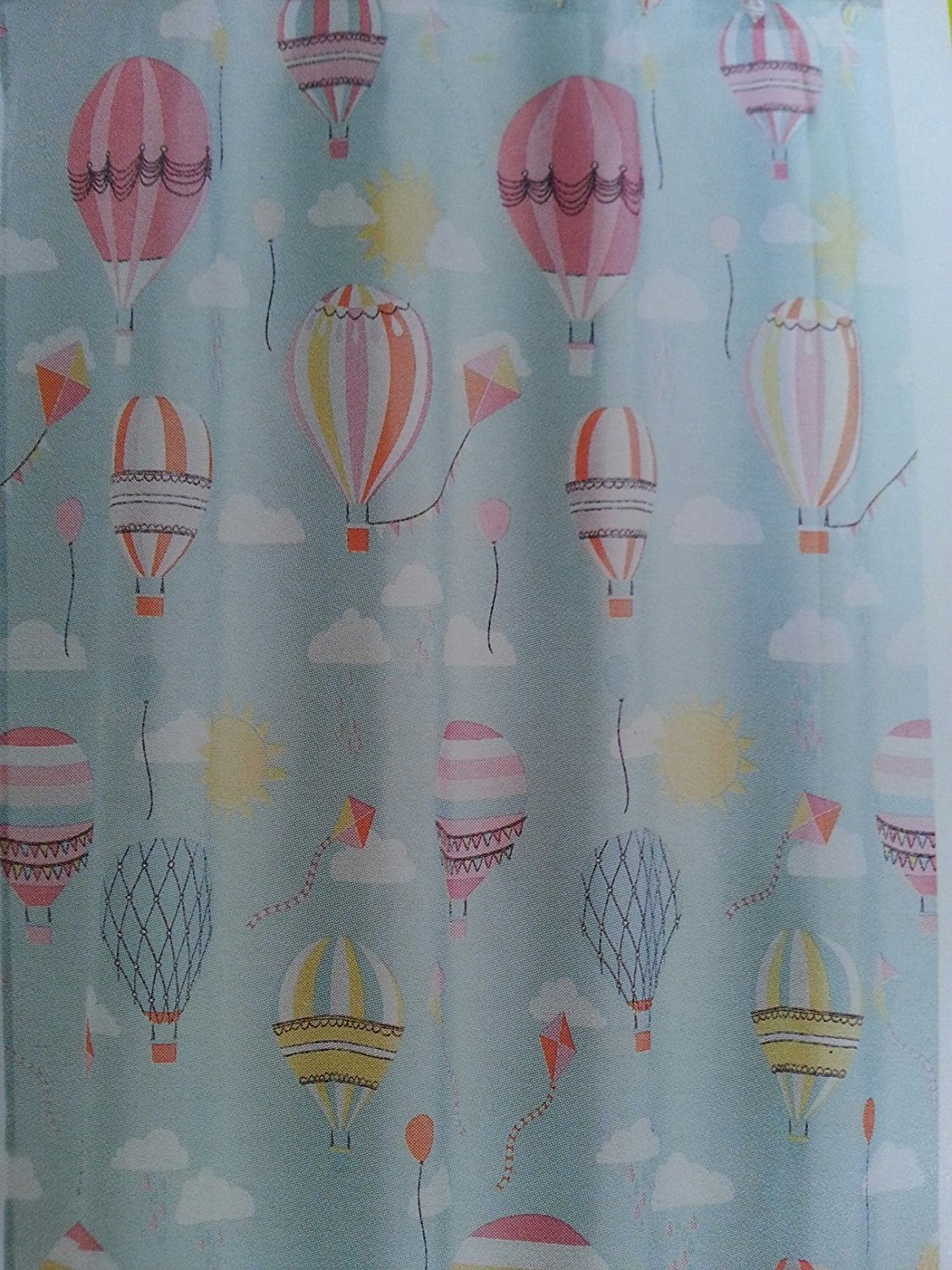 Get Quotations · Hot Air Balloon In The Air Shower Curtain