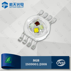 Good Quality CCT5000-7000K 10W High Power RGBW 4in1 LED Diode