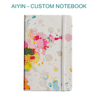 Custom Printing Paper Hardcover Notebook Journal A4 A5 Plain Full Color Printed Notebook Diary For Meeting Souvenir Gift