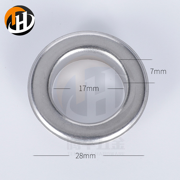 28mm Customized Durable Metric Stainless Metal Eyelets with Washer
