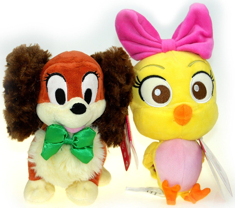"""Bundle - 2 items: Disney Junior Cuckoo Loca 9"""" Plush AND Disney Junior Fifi 7"""" Plush"""