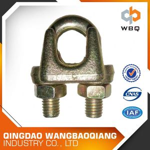 China Market Din741 Casted Malleable Metal Wire Rope Clips