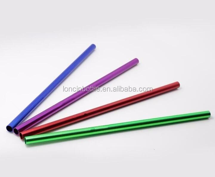Aluminium kleurrijke stro met koper plating galvaniseren - Aangepaste bar ...