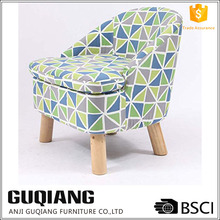 Simple Modern Fabric Foot Stool With Low Backrest,Single Shoe Change Stool,Leisure Sofa Chair