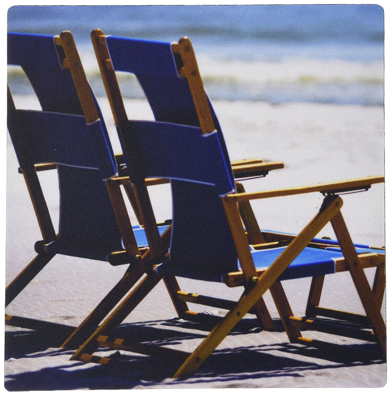 3drose Beach Chairs, Umbrella, Ship Island, Mississippi - US25 FVI0023 - Franklin Viola - Mouse Pad