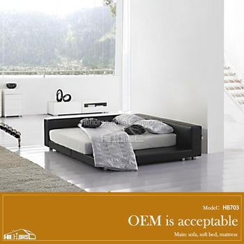 Moderne Mobilier De Chambre King Size Japonais Plate-forme Lit ...